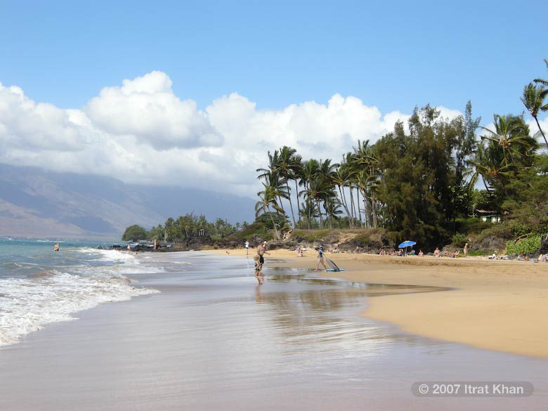 A day at Wailea Beach, Maui